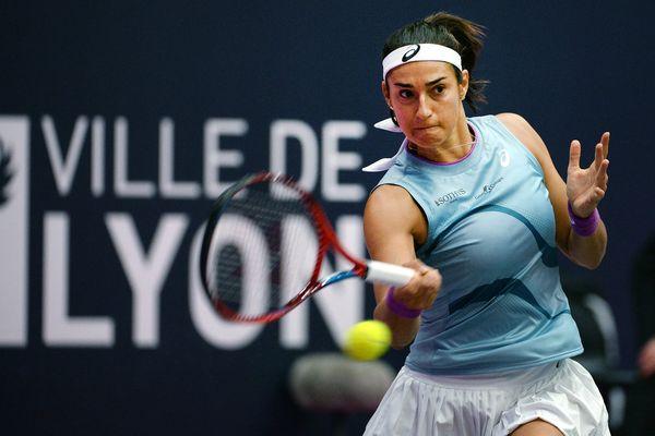Open 6eme sens Lyon.  Défaite de Caroline Garcia face à la suisse Viktorija Golubic