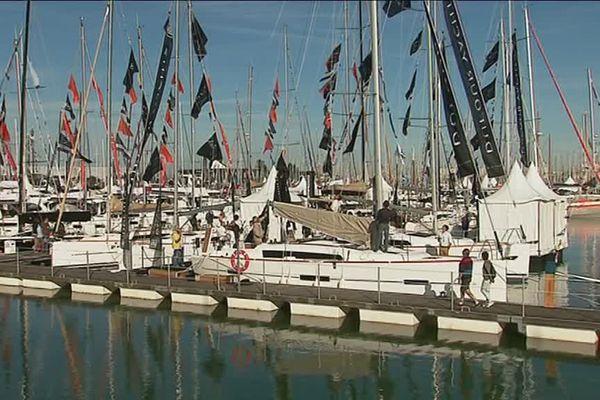 La 45ème édition du Grand Pavois se tient jusqu'au 2 octobre au port des Minimes à La Rochelle.