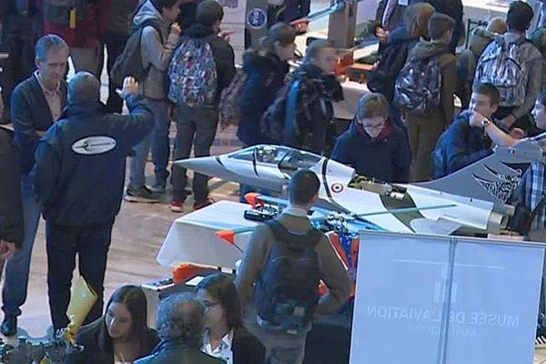 Nîmes - 4e salon aéronautique - novembre 2018.