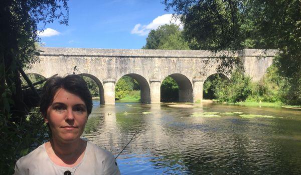 Un pont canal du XIXème dans un écrin de verdure