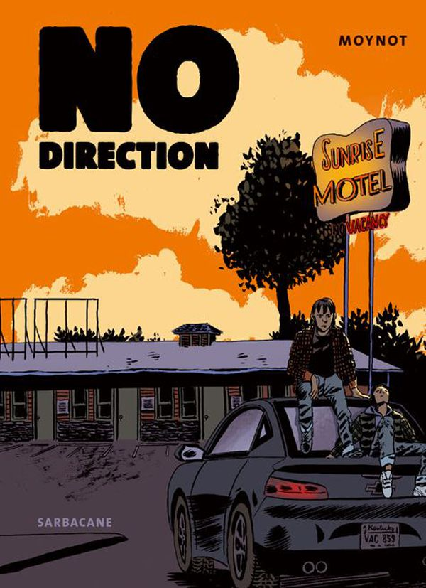 No Direction - Emmanuel Moynot - FIBD 2020 - Fauve Polar SNCF