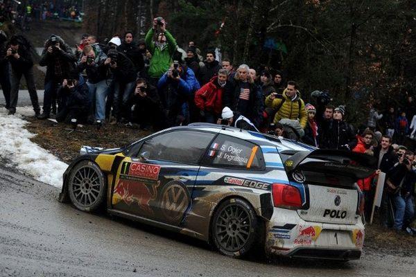 Sébastien Ogier vise un 3e titre au Rallye de Monté-Carlo.