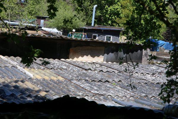 A Audun-le-Tiche, un bidonville à la frontière du Luxembourg.