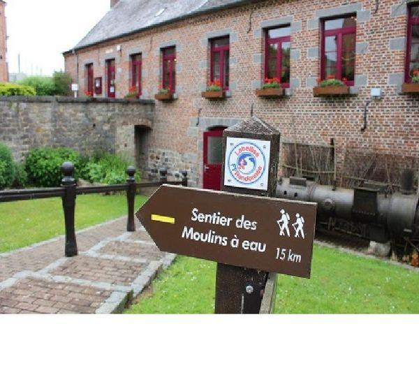 Le musée des Bois jolis installé dans le moulin à eau sur la commune de Felleries
