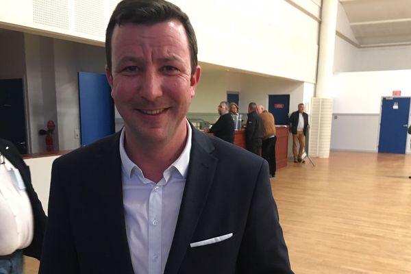 Jean-Yves de Chaisemartin le 15 mars 2020, 1er tour des élections municipales