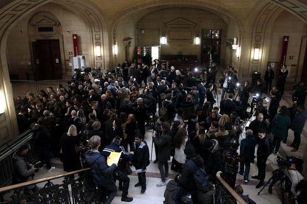 Le palais de justice de Paris, le 24 janvier 2018.