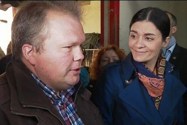 Audrey Bourolleau, à Usseau (Vienne) le 29 avril 2017