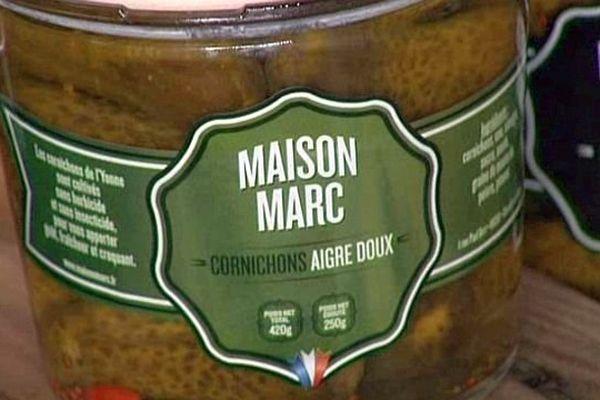 """Les derniers cornichons """"made in France"""" sont produits à Chemilly-sur-Yonne, en Bourgogne."""