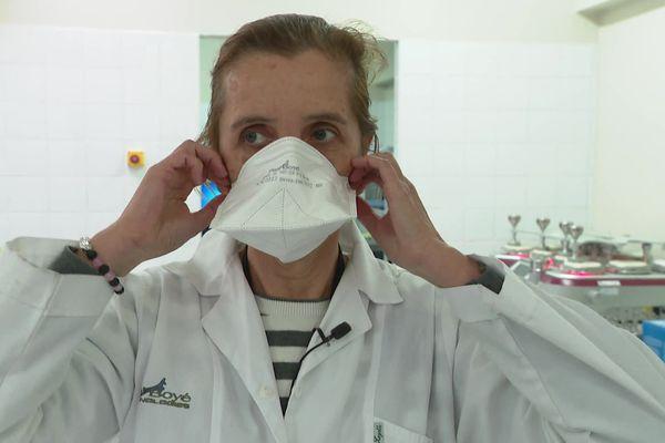 Le masque virucide mis au point par Paul Boyé Technologies pourrait être commercialisé prochainement