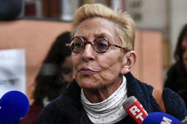 Isabelle Balkany, lors du procès en appel concernant le volet fraude fiscale. Elle comparaissait sans son mari incarcéré et hospitalisé. Paris le 11 décembre 2019.