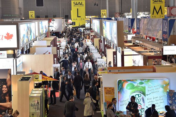 Le salon international de l'alimentation, à Villepinte, en 2016.