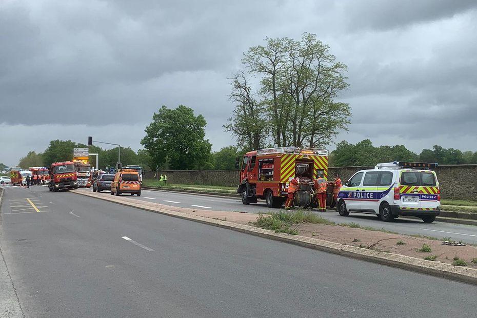 Val-de-Marne : trois pompiers gravement blessés dans un accident de la circulation