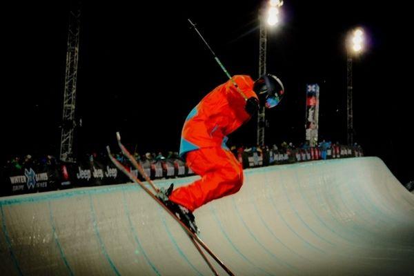 Le Superpipe version ski, reste l'épreuve phare des X-Games