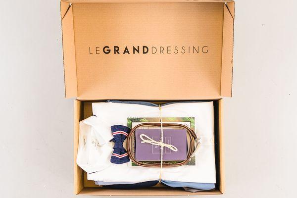Le Grand Dressing, service de box destinée aux hommes