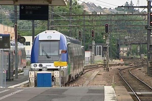 La gare de Poitiers.