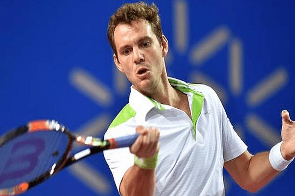 Open Sud de France à Montpellier : Paul-Henri Mathieu en demie-finale - février 2016.