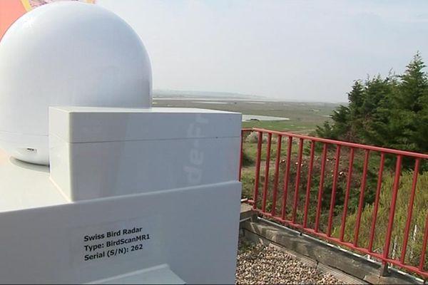 Le radar ornithologique destiné à la baie des Veys pourrait être comme celui installé dans le Pas-de-Calais