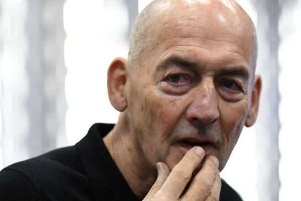Rem Koolhaas a inauguré ce vendredi à Caen la vaste bibliothèque qu'il a conçue.