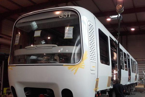 Le site de construction ferroviaire CAF France à Bagnères de Bigorre emploie une centaine de salariés.