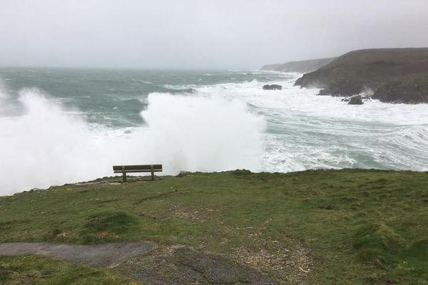 Le vent souffle dans le Finistère