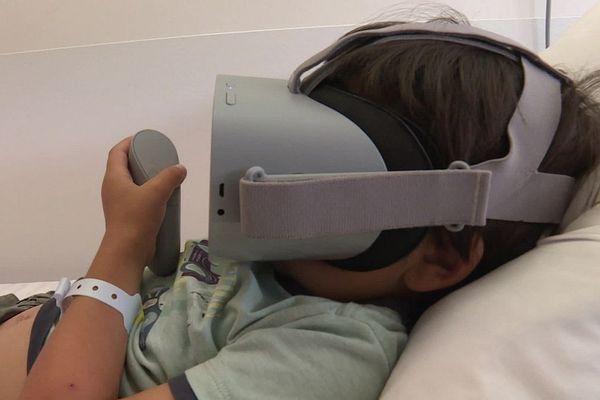 La 3D au chevet des petits malades du service pédiatrie de l'hôpital de Foix.