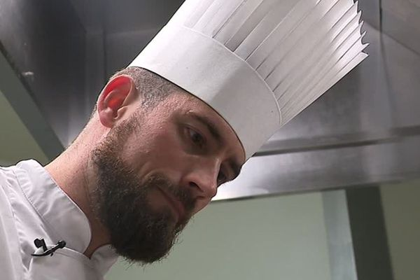 Sébastien Rath est un jeune chef cuisinier, installé à Alès - novembre 2018