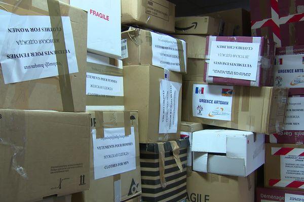 Un premier container de dons va partir le 11 décembre 2020 de la Drôme, en direction des réfugiés arméniens de l' Artsakh.