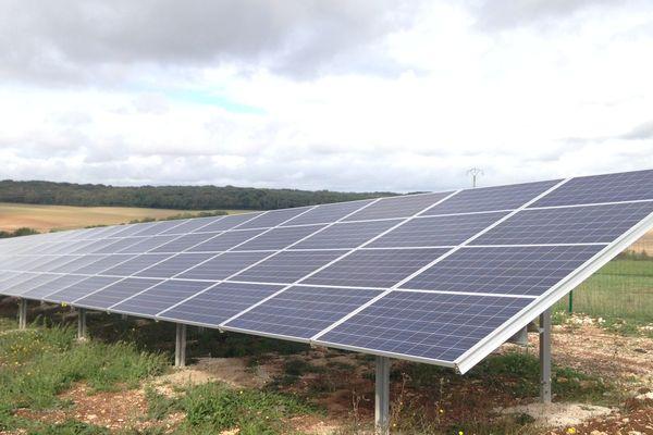 Panneaux photovoltaiques à Orain (Côte-d'Or)