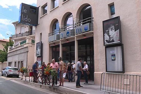 Les spectateurs sont au rendez-vous pour la 59e édition des ciné-rencontres de Prades, dans les Pyrénées-Orientales - juillet 2018.
