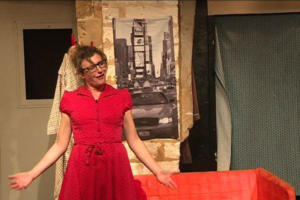 Caroline Steinberg a créé et incarne le personnage de Maggy, une ingénue qui parle sexualité sans tabou - novembre 2018