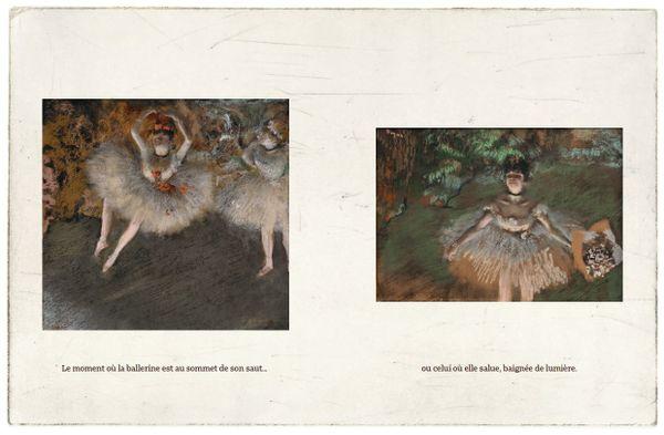 Ce que voit Degas de Samatha Friedman et Cristina Pieropan