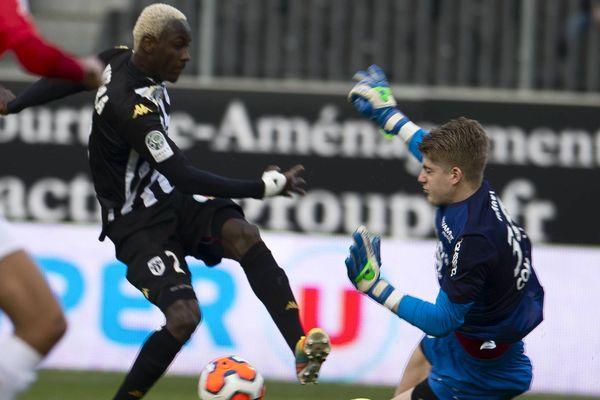 Mohamed Lamine Yattara la star d'Angers SCO