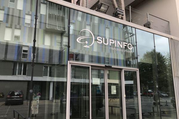 Les locaux de Supinfo à Nantes