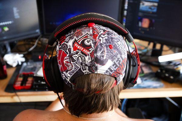 Un gamer néerlandais prépare la CampZone - PHOTO D'ILLUSTRATION