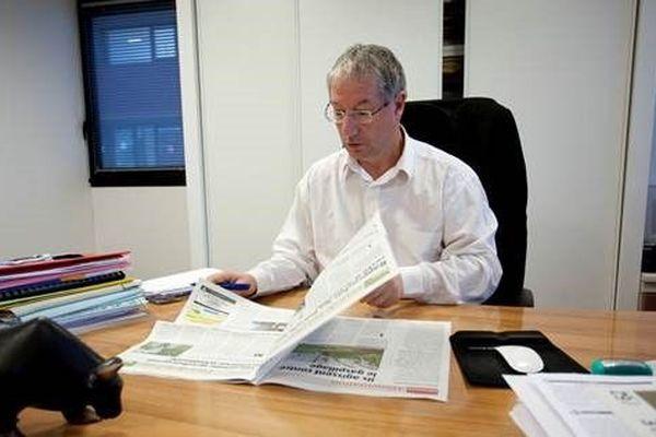 Michel Guillet dirigeait la rédaction de l'Avenir Agricole depuis 1997. Il s'est toujours battu pour l'indépendance de son journal.