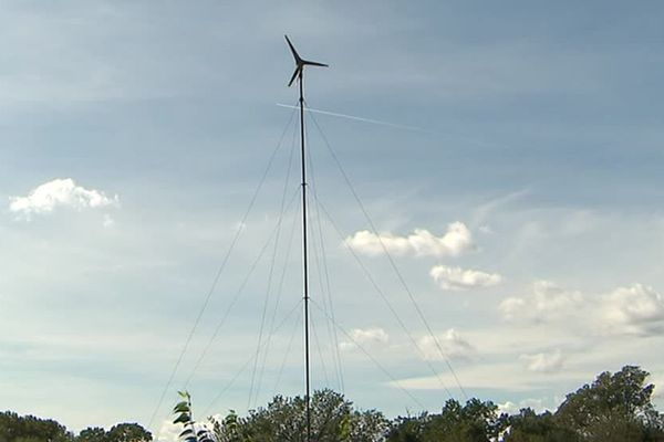 L'éolienne produit 200KW/h par an