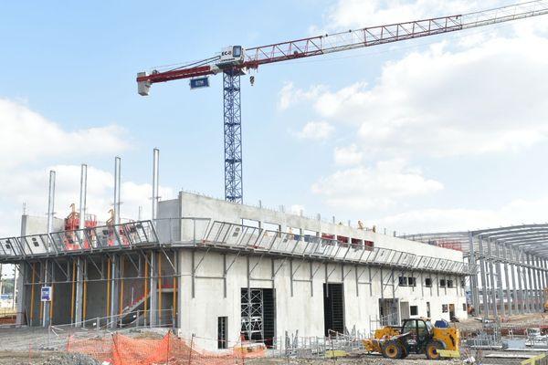 L'évolution du chantier en septembre 2018