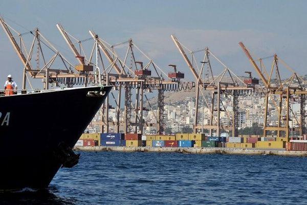 Port du Pirée, 12 octobre 2009