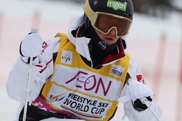 La Française Perrine Laffont lors des épreuves de Lake Tazawa, le 22 février 2020.