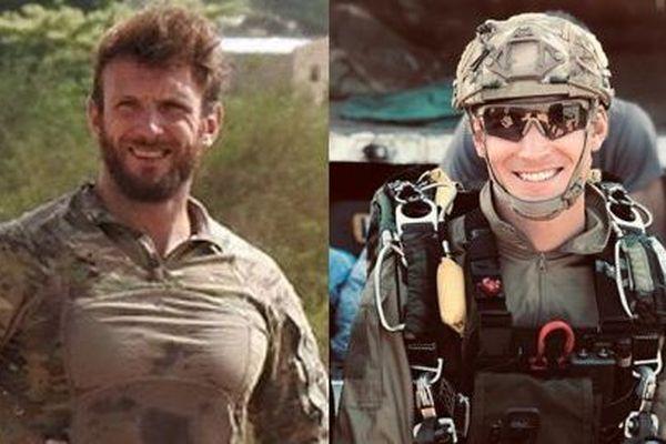Les soldats Cédric de Pierrepont et Alain Bertoncello, tués lors d'une opération militaire au Burkina Faso, dans la nuit du 9 au 10 mai