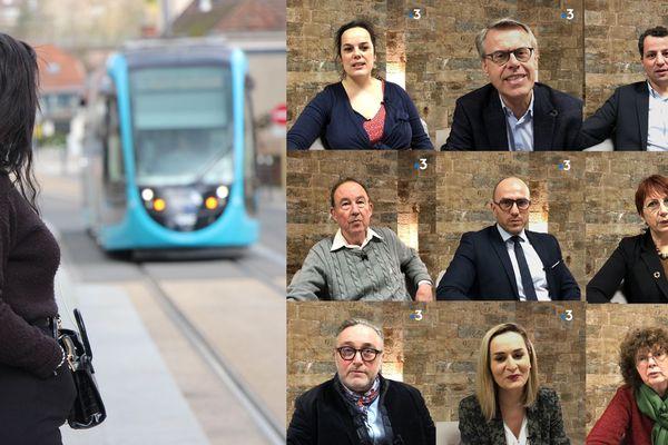 Pour ou contre la gratuité des transports en commun à Besançon ? Les candidats aux municipales 2020 répondent.