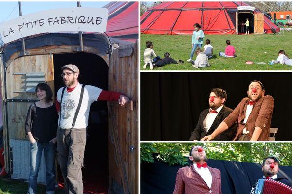 La P'tite Fabrique de Cirque dans le Sud de la Touraine tire la sonnette d'alarme
