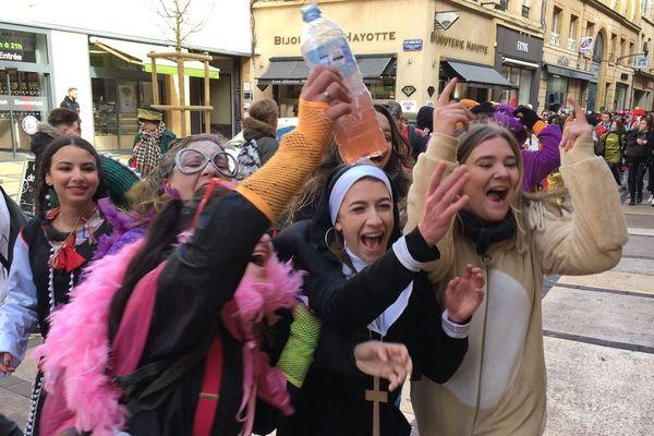 Il y en avait pour tous les goûts à l'occasion de cette édition 2019 du père cent dans les rues de Metz, ce mercredi 13 mars.