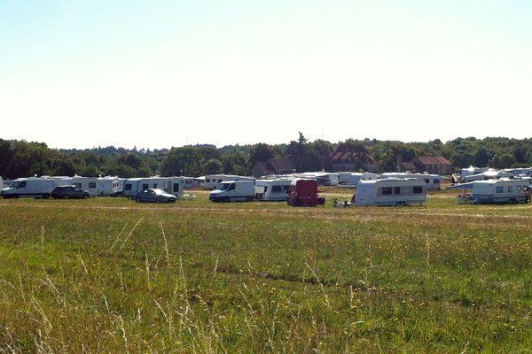 Les 150 caravanes font étape avant la grande convention dans le Loiret le 22 août