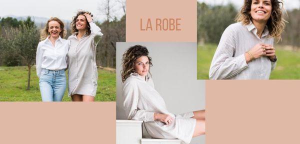 """""""notre coton est tissé et teint en France. Il est certifié GOTS (un label international pour le textile biologique)"""" explique Sarah, qui vient de se lancer dans une marque engagée"""