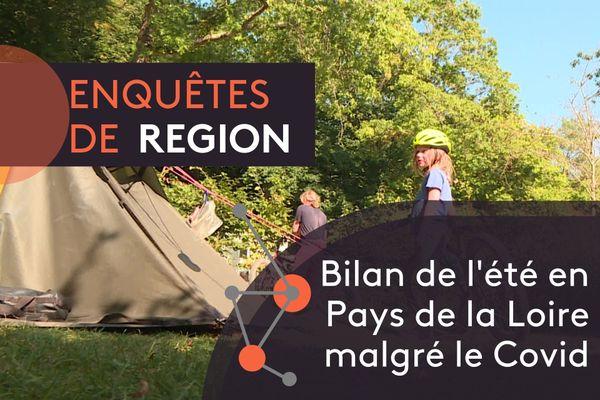 """Bilan touristique positif de l'été en Pays de la Loire malgré le Covid, avec Matthieu Guillerot et ses invités dans """"Enquêtes de Région"""""""