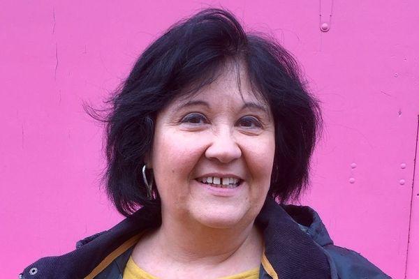 Sylvie Orcier, présidente des vitrines de Caen