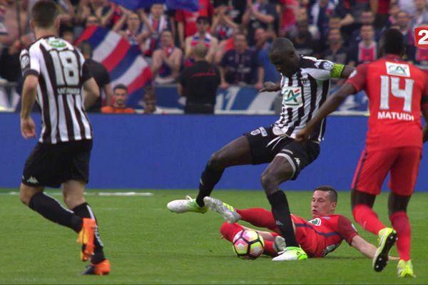 Finale de la Coupe de France 2017 SCO Angers -PSG au Stade de France