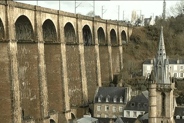 Le viaduc de Morlaix (29) aujourd'hui