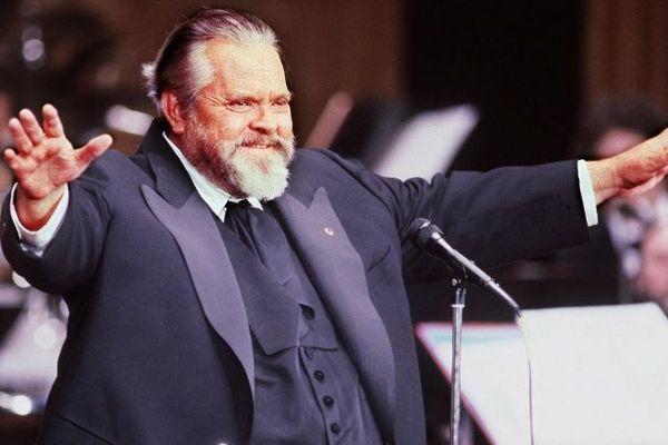 Le réalisateur Orson Welles.